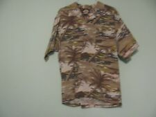 Tommy Bahama Nassau Original Relax Hawaiian Shirt Size XL Rayon Brown Tan Trees