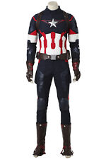 The Avengers Age of Ultron Captain America Steve Rogers Cosplay Costume Outfit