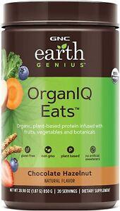 GNC Earth Genius OrganIQ Eats - Chocolate Hazelnut - BBD 05/2021