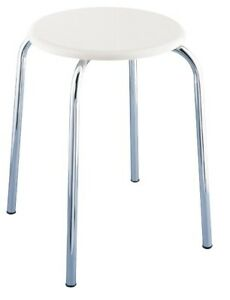 WENKO Hocker Badhocker Badmöbel Sitz Sitzfläche Sitzhocker Ablage Badehocker
