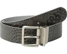 686 Women Lynx Reversible Belt (L/XL) Black Python