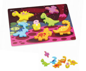 Dinosaur 3D Puzzle by Classic World | Kids Childrens Wooden NEW