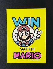 1989 Topps Nintendo Sticker : Win With Mario - Tips No.18 Zelda II