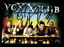 Voxx Club Autogrammkarte Original Signiert ## BC 111114