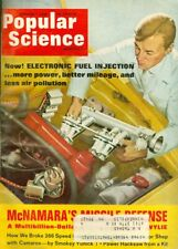 1968 Popular Science Magazine: Electronic Fuel Injection/McNamara Missile Defens