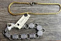 "Vintage Sarah Coventry Silver Tone Bracelet 6"""