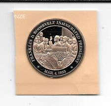 So Called Dollar Bu Franklin Mint March 4th 1933 Franklin Roosevelt Inaugurated