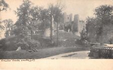 CONISBORO CASTLE YORKSHIRE UK~EXISTED 4 89~FRITH'S SERIES PHOTO POSTCARD 1900s