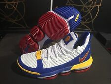 "buy popular acbb0 5adca Nike Lebron XVI 16 SB Superman ""superbron"" Cd2451-100 White Varsity Red Size"