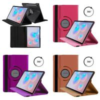 Case For Samsung Galaxy Tab S7 Plus 12.4 Various Colour 360 Degree Rotate Cover