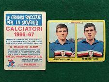CALCIATORI 1966/67 66/1967 SAMPDORIA SALVI VIERI Figurina Sticker Panini (NEW)