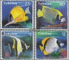 Tokelau 214-217 (complete issue) unmounted mint / never hinged 1995 Fish