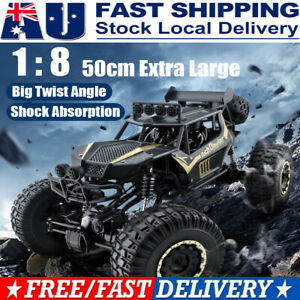 4WD RC Cars Monster Truck Off-Road Vehicle 2.4G Remote Control Crawler 50CM AU