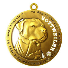 """Rottweiler Pet ID Tag  / Keychain 1.75"""" Tags4Tails"""