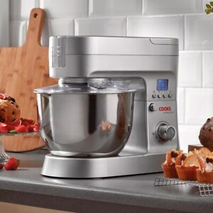 Cooks Professional 1200W Stand Mixer 10 Speed 6.2L Mixing Bowl Dough Hook Beate2