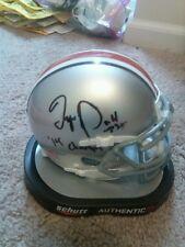 Tyvis Powell Ohio State Buckeyes Signed Helmet NFL
