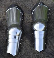 Battle Merchant Spätmittelalter-Beinzeug 1,2mm Stahl Beinschienen Plattenrüstung