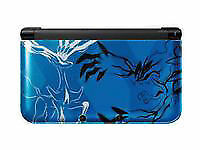 Nintendo 3DS XL (Latest Model)- Pokemon X and Y Blue Handheld System