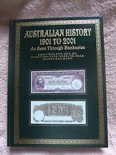 AUSTRALIAN HISTORY 1901-2001 seen through BANKNOTES Hardcover + Slipcase RRP$250