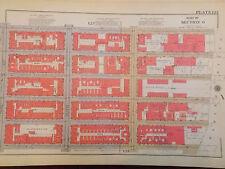 Original 1934 Yorkville New York City 12 x 17 NYC New York CityManhattan Map