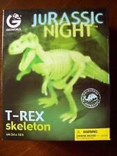 DINOSAUR SKELETON T-REX JURASSIC NIGHT GLOW in the DARK KIT from GEOWORLD