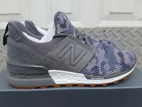 NEW IN THE BOX NEW BALANCE MS574DCY CASTLEROCK ARMY STYLE FOR MEN