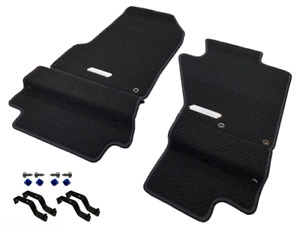 Genuine Honda S2000 Premium Black Carpet Mats (RHD) *NH167L*