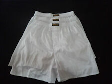 3 Pairs Thai Silk Boxer Shorts White Sleepwear  XL Underwear Extra Large