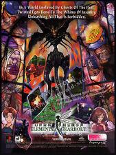 ELEMENTAL GEARBOLT__Original 1998 Print AD / game promo__Working Designs__PS1
