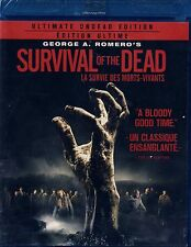 BRAND NEW BLU-RAY// GEORGE A ROMERO // SURVIVAL OF THE DEAD // UNDEAD EDITION