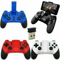 Wireless Bluetooth Gamepad Joypad Game Controller 2.4G Receiver For Android iOS