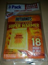 HotHands Body Hand Super Warmers 3 Pack up to 18 Hours Heat Hot Hands