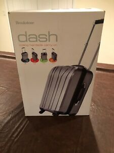 Brookstone dash rolling hardside carry-on  -    DASH BERRY