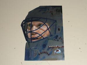 1996-97 Donruss Elite Painted Warriors Die Cut #1 Patrick Roy 1345/2500
