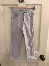 Boys johnnie-O Tan Pants. Size 4. Jeans Style, Slim Leg, Adjustable Waist