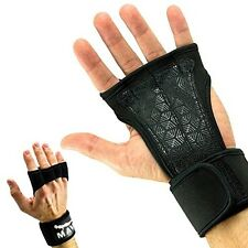 Mava Sports Workout Gloves with Wrist Wraps Support Weightlifting Gym Exercise