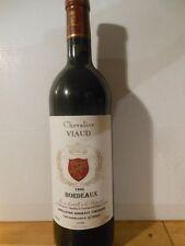 Bordeaux Rouge Chevalier Viaud 1996 - Une Bouteille De Vin.