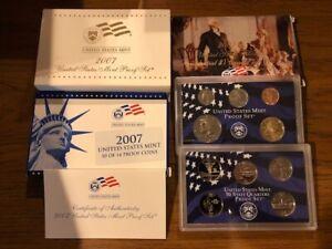 2007 S Proof Set U.S. Mint Original Government Packaging OGP