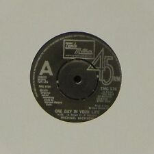 "MICHAEL JACKSON 'ONE DAY IN YOUR LIFE' UK 7"" SINGLE #4"