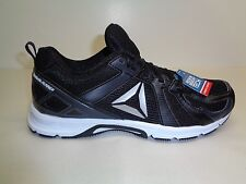 Reebok Size 13 M RUNNER MT Black Coal White Running Sneakers New Mens Shoes