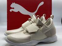 Puma Dare Trainer Women's Size 8 Sheen Sneakers Shoes Birch White 366409-02