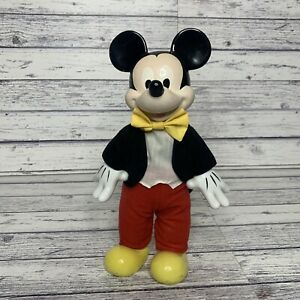 Vintage Kenleys Disney Mickey Mouse Hand Painted Porcelain Doll