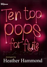 Ten Top Pops for Flute Sheet Music Book Songbook James Blunt SAME DAY DISPATCH