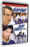 DVD SLAPSHOT + SLAP SHOT 2 Commedia Paul Newman Stephen Baldwin
