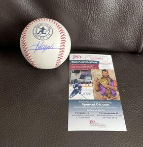 Adrian Beltre Signed 3,000th Hit Club Logo Baseball + JSA Coa Texas Rangers
