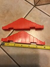 """Lincoln Log 6"""" Roof Truss Set Of 2 Pieces 2 Notch Vintage"""