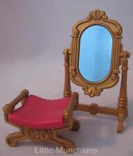 Playmobil Victorian/palace/dollshouse furniture: Floor mirror & seat/stool NEW