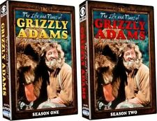 The Life and Times of Grizzly Adams Complete Series DVD Set Season 1 2 One Two R