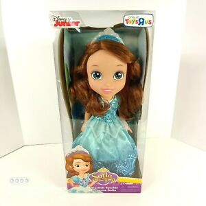 "Sofia the First Seashell Sparkle 15"" princess Sofia doll Disney Junior 2015 Jakk"