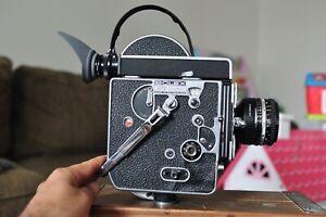 Bolex H16 Ref  Camera body with a 50mm Nikon Lens